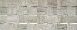 WOOD Mosaico Style Grey 35x90